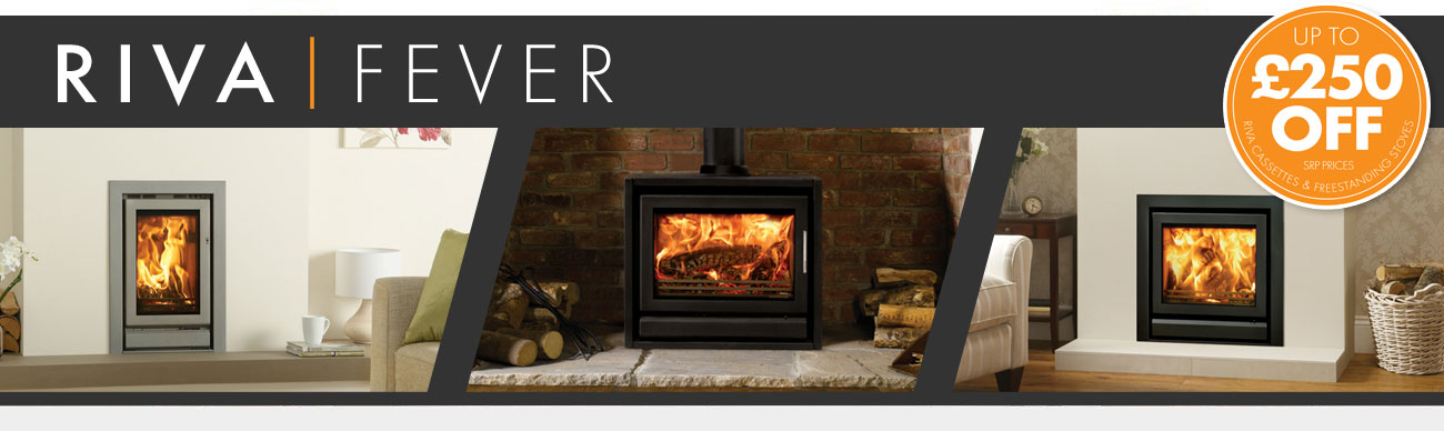 Up to £250 off Riva fires and stoves for a limited time only!