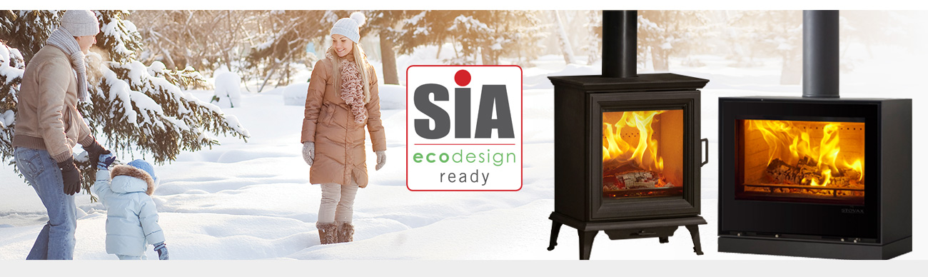 SIA Ecodesign ready stoves and fires