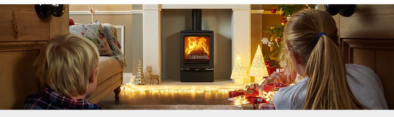 Festive Fireside