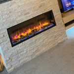 Martin & Emma, Gazco eReflex 105R, chic electric fireplace