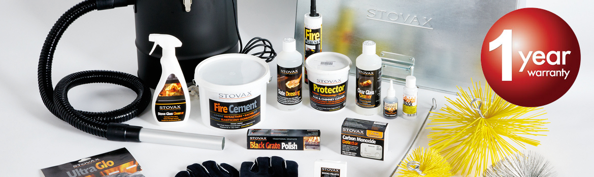 Stovax and Gazco Accessories and Hearth Products 1 Year Warranty