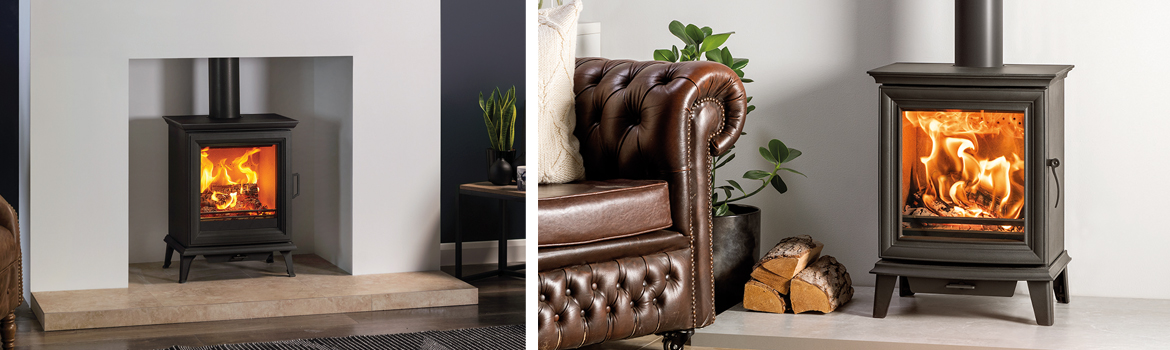 What's the difference between a Sheraton 5 and Chesterfield 5 wood burning stove?