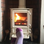 Rushed off my feet #rainySunday #logburner #stovax #relax