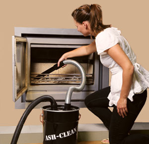 Vacuum any remaining ash and debris from inside the appliance