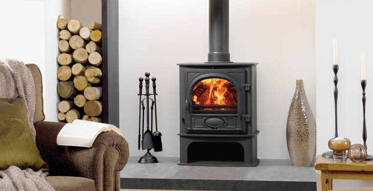 Wood Burning Stoves Use 80 Percent Fewer Logs Than An Open