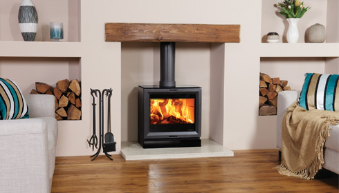 Stovax View 8 Stove Wood Burning