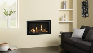 Studio Slimline built in gas fire