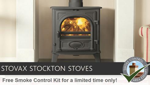 Free Smoke Control Kits Available with Stockton Stoves! - Stovax ...