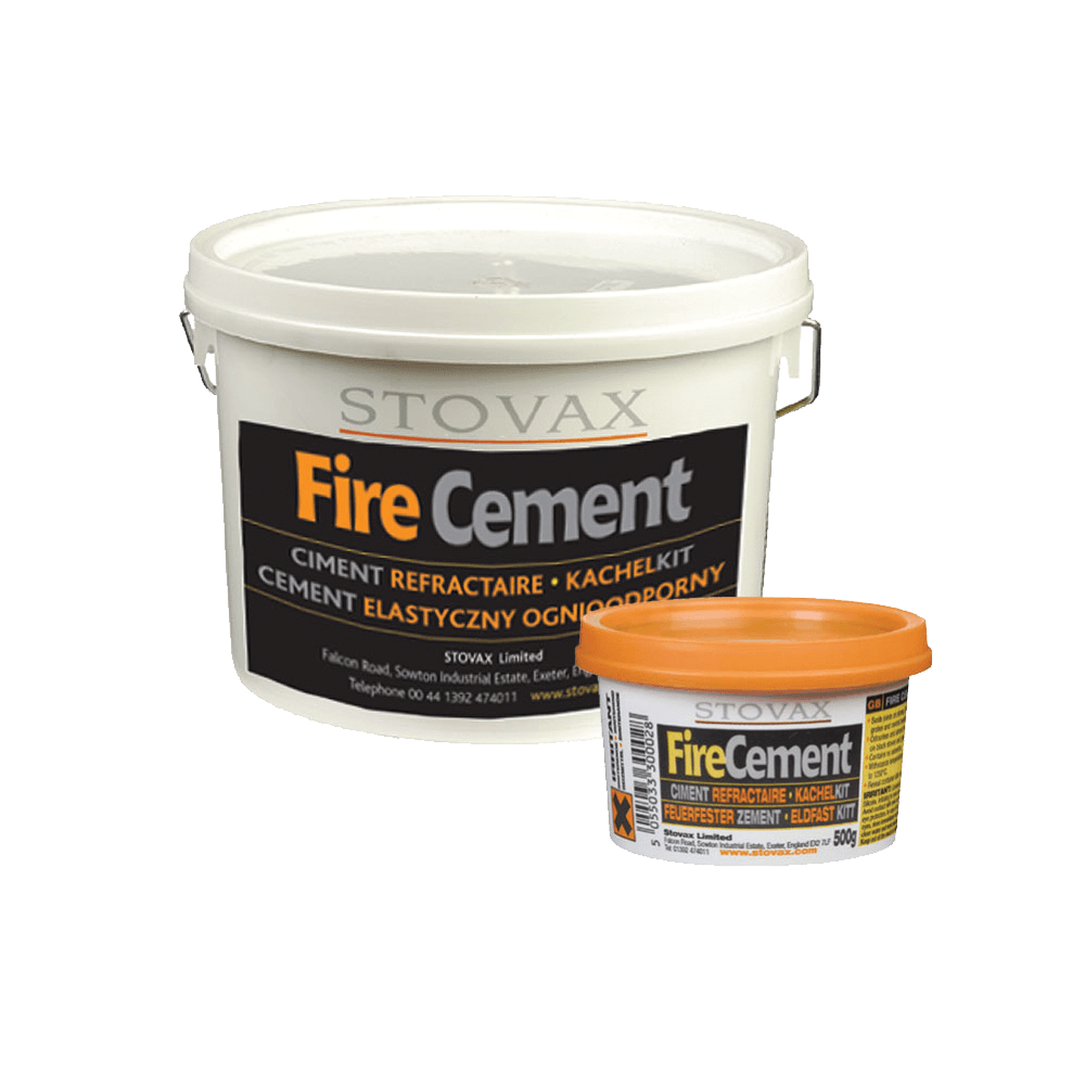 Fire Resistant Mortar : Fire cement stovax accessories