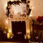 #festivefireside our Christmas fireside, thanks for the new fire x