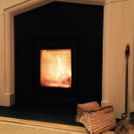 """Whole family are mesmerised by the flickering flames & warmth of this stylish fire"""