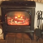 """Fantastic cosy fire without the mess"""