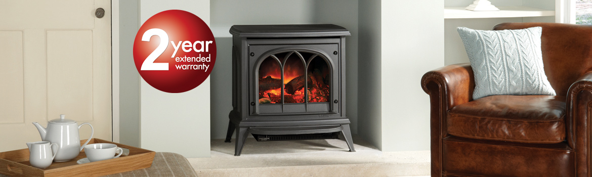 Gazco Electric Stoves and Fireplaces 2 Year Extended Warranty