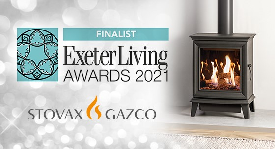 Stovax & Gazco Shortlisted for the Exeter Living Awards!