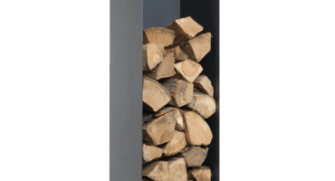 Black Log Holder – Large