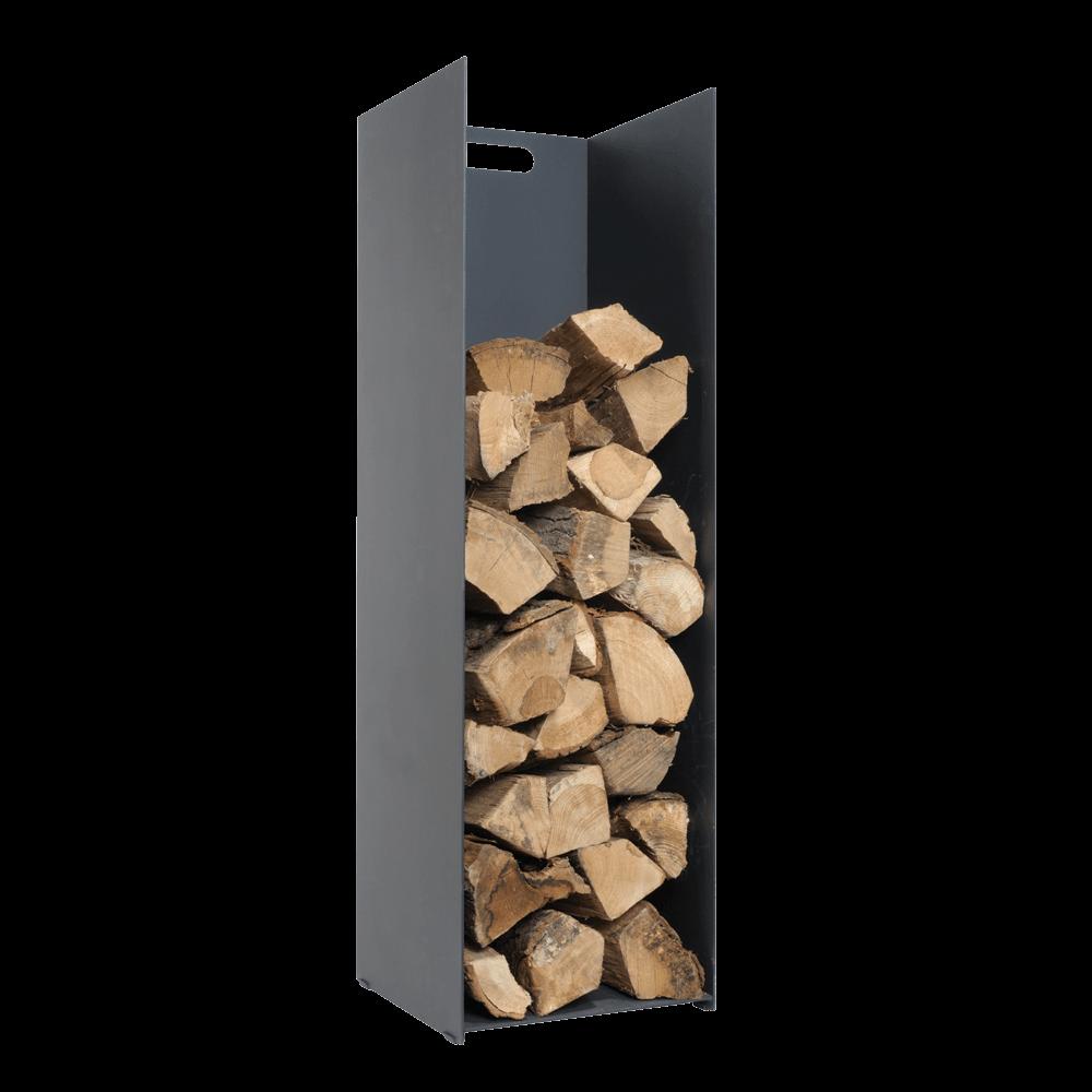 Black Log Holder – Large