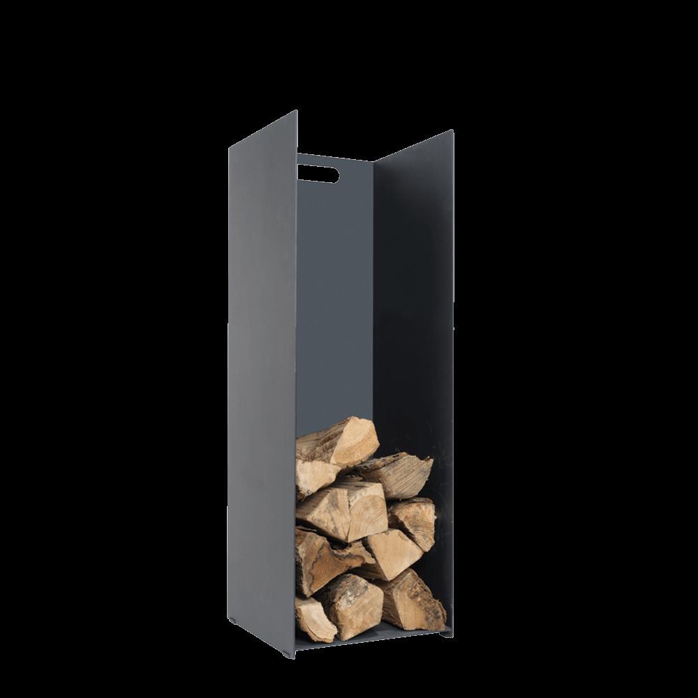 Black Log Holder – Medium