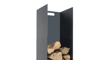 Black Log Holder – Small