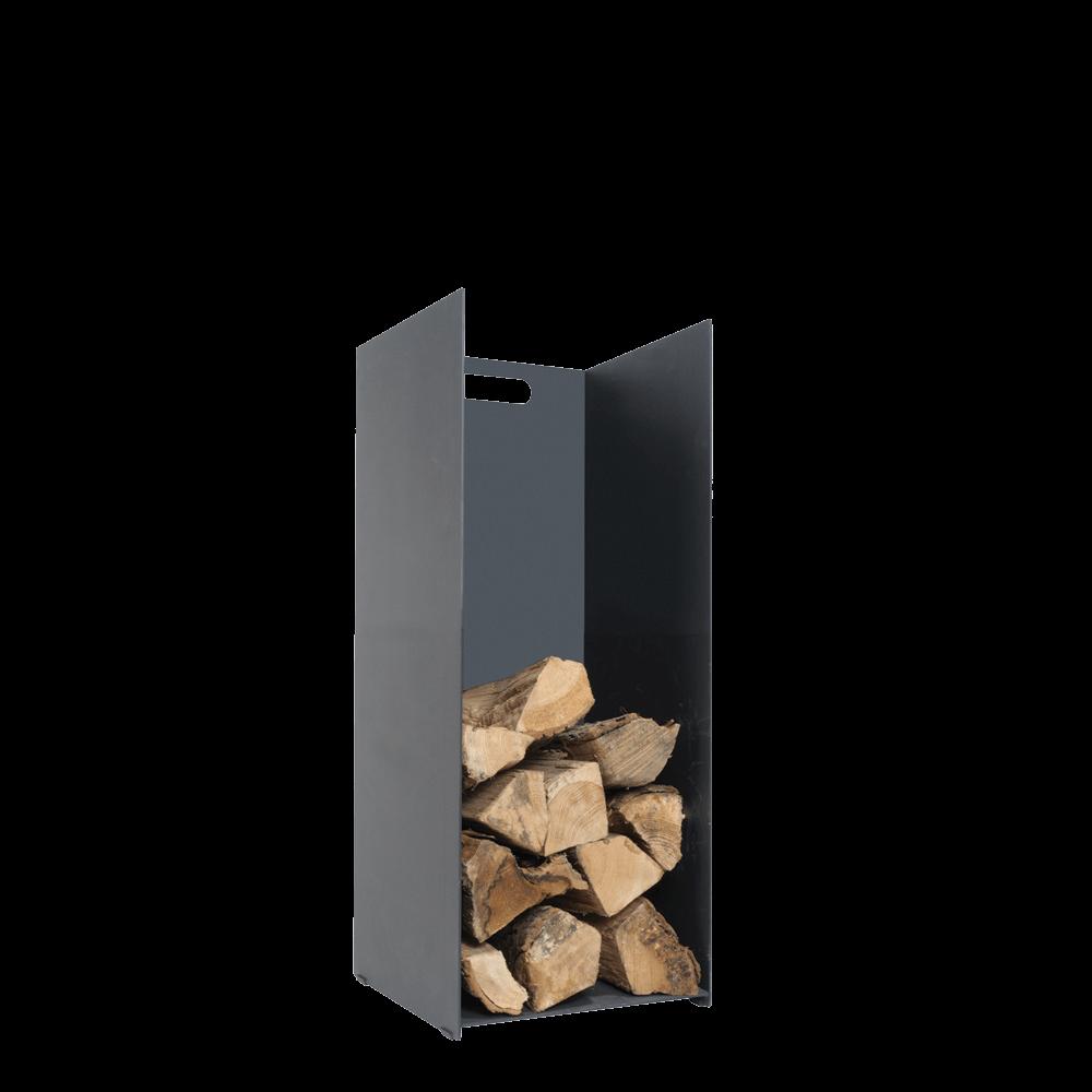 Black Log Holder – Small