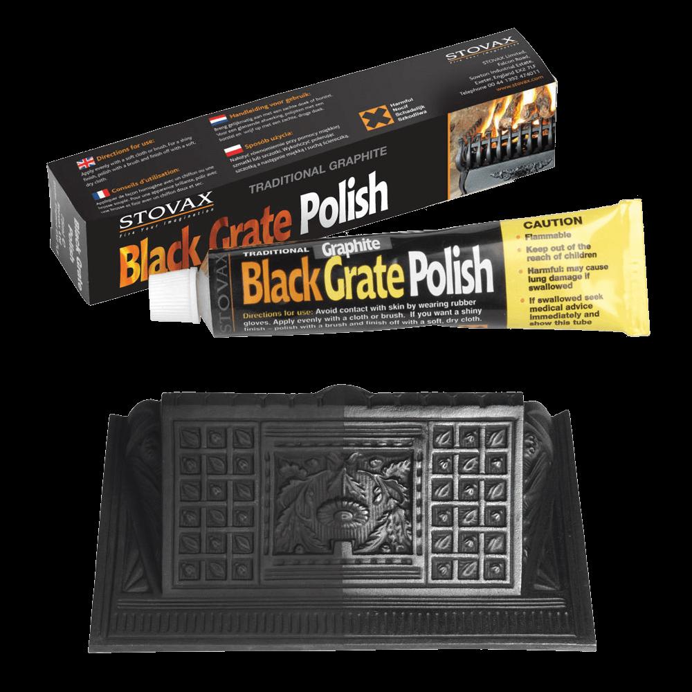 black grate polish stovax accessories