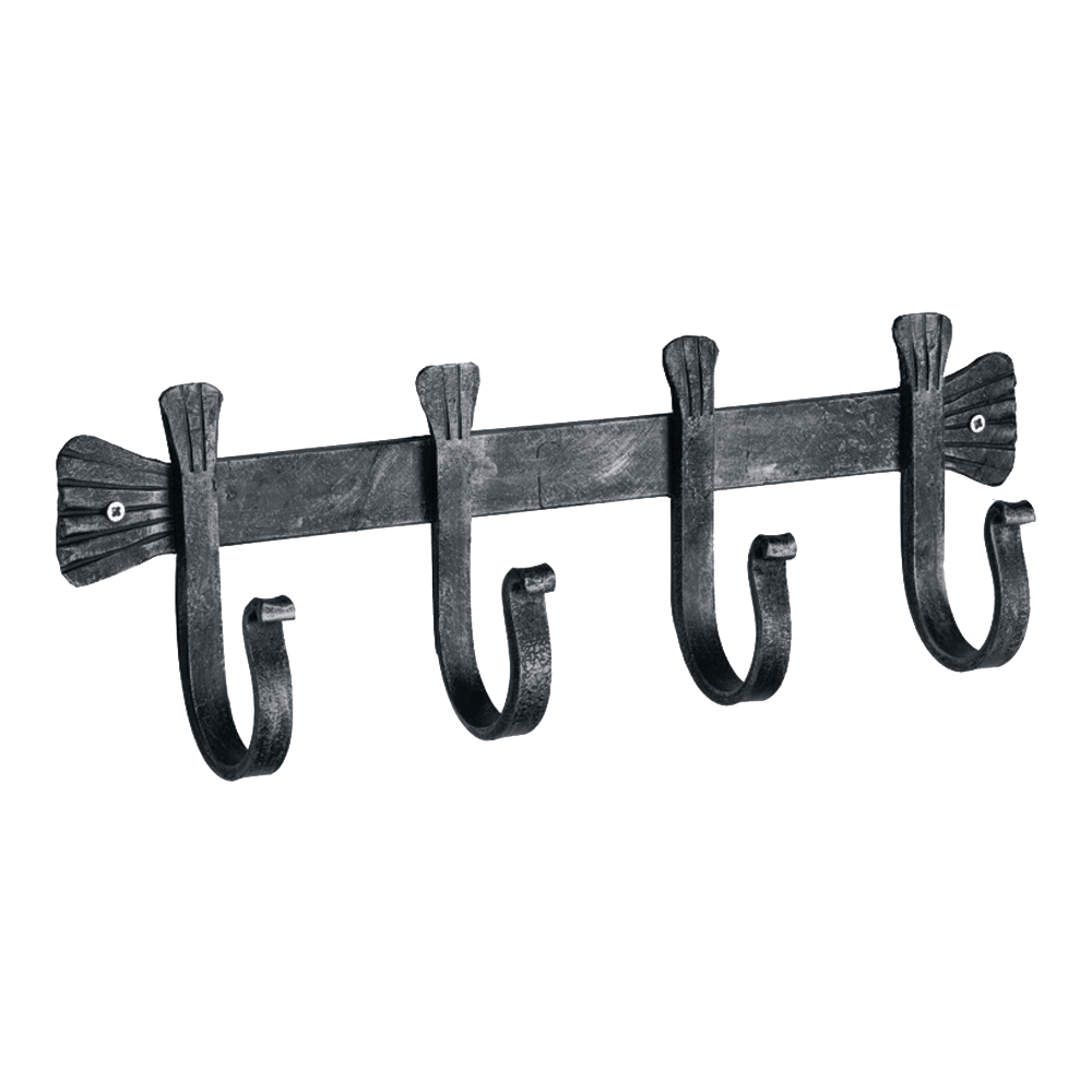4 Tool Wrought Iron Bracket