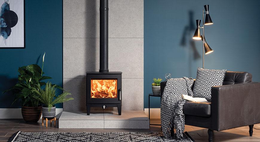 Stovax Futura 5 Wood burning and multi-fuel stove