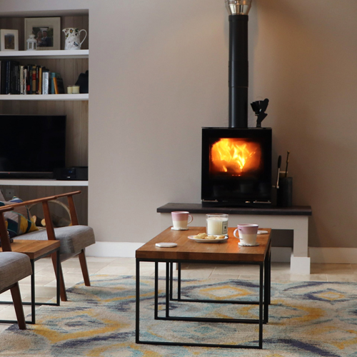 Paterson Macaulay & Owens choose a Stovax stove to create a focal point in extension