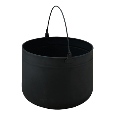 Large Black Pail