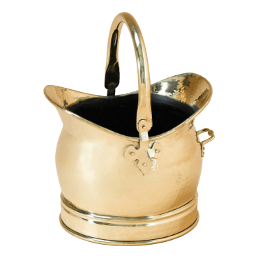 Medium Brass Scuttle