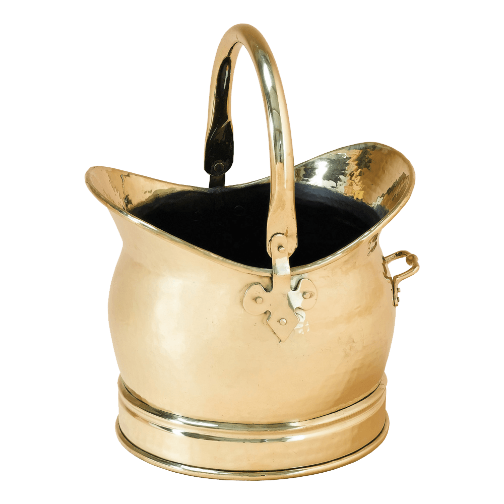 Medium Brass Scuttle