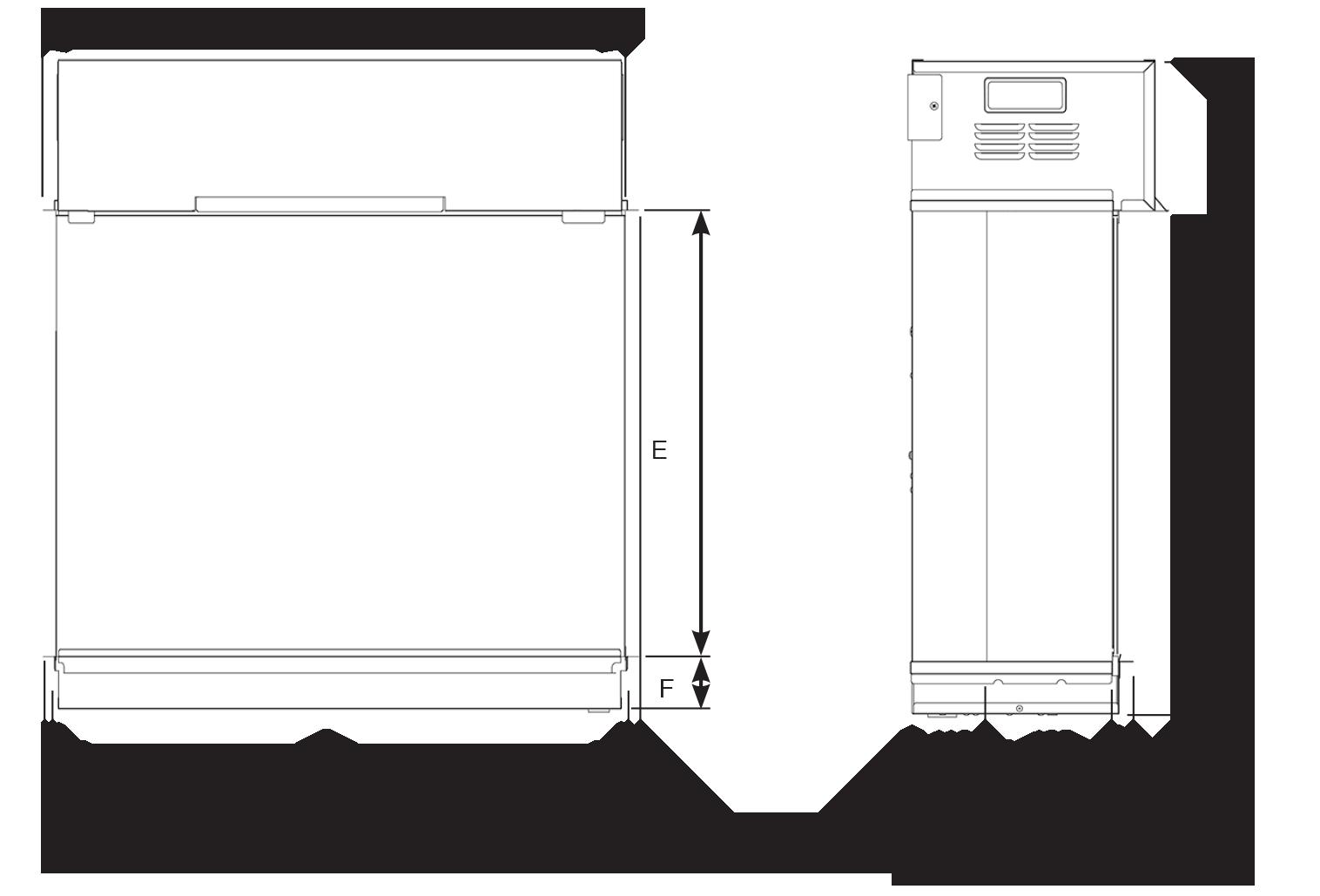 eReflex 75W (formerly Skope) Dimensions