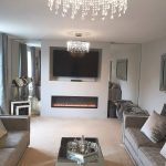 Lauren, Radiance electric fire, stunning new build property