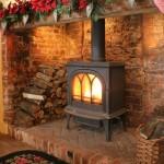 Lovely Christmas Fireplace