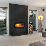 Keith and Kirsty Conder opt for Stovax Studio wood burner in striking contemporary self-build