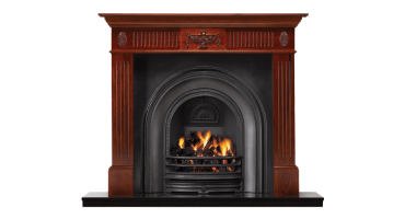 Adam Wood Mantel