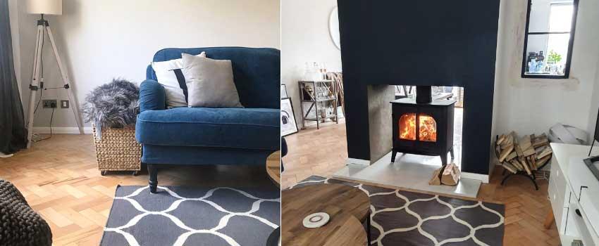 Olivia & Leighton's beautiful interior