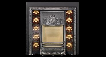 Art Nouveau Tiled Fireplaces