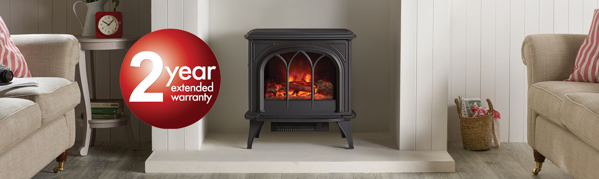 Gazco Electric Stoves and Fireplaces 2 Year Warranty