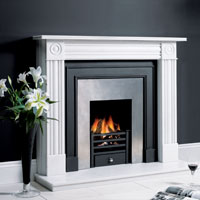 Small Amhurst Fire Basket in Black