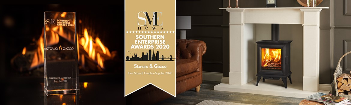 Stovax & Gazco Wins Best Stove & Fireplace Supplier of 2020