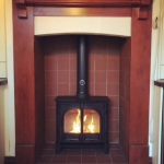 First time we've fitted the brand new Stockton 5 Wide by @stovaxgazco and it looks fabulous! Customer is thrilled and so are we! #stovax #stockton #multifuelstove #flueliner #hetas #hetasinstaller #cosy #readyforwinter #bentleyfireshop