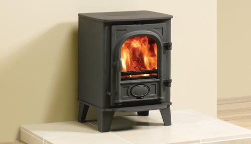 Stockton 3 burning wood