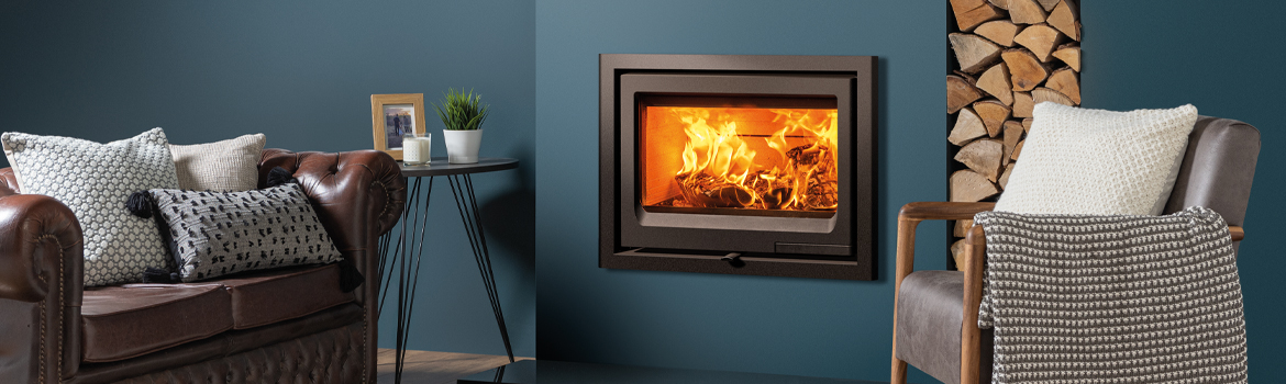 New Stovax Vogue 700 Inset Wood Burning Fire