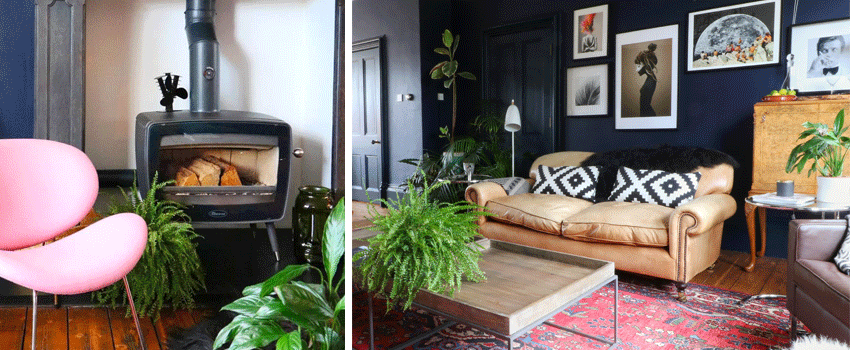 Dovre Vintage 50 in mid-century home