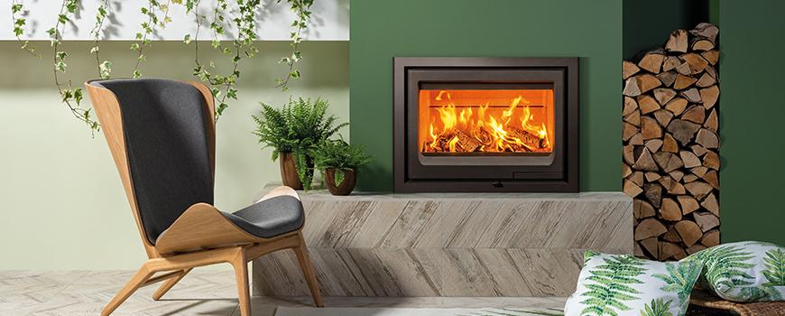 Vogue 700 Inset woodburner