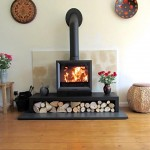 Here's one of our installations – a @StovaxGazco View 8 on a low 1200 bench. #CSinstallations #CoriniumStoves
