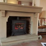 Lovely job this morning fitting this yeoman gas stove  looks fantastic  @StovaxGazco