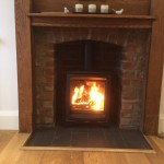 Stovax Vogue woodburning stove completed going to be a great stove this season @StovaxGazco