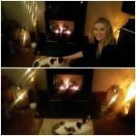 Enjoying a #hearthwarmingmoment… I think my cat loves this fire even more than we do! @StovaxGazco #STXMAS15?  Xxx