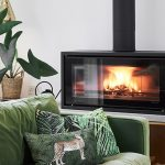 TG Designer Homes, Stovax Studio 2 Freestanding Wood Burning Stove, Perfect Focal Point
